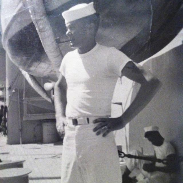 Daddy as a Sailor