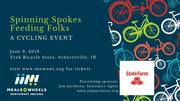 2019 Spinning Spokes bicycle fundraiser for Meals on Wheels