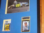 Jimmie Johnson auto race used