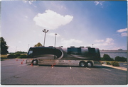 One of Bob Dylan's two tour buses