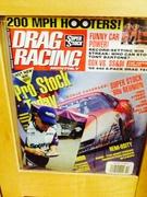 Jim Yates Signing Super Stock, Drag Racing Monthly, Oct. 1996 Magazine