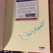David Mamet Signed Edmond Paperback PSA/DNA