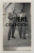 Abbott and Costello C. 1952 Vintage Candid