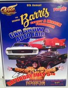 The Late George Barris, signed, #46c-256, 6th annual Volo Auto Museum Flyer