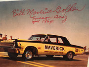 #20-42, Bill Maverick Golden, Signed, , Dodge, Photo