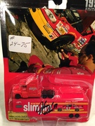 #24-75, Jason Keller, Signing,  Racing Champions, 1997, 1:44 scale, Hauler, #57, Slim Jim, Busch, (Jason is in Uniform with real car in Back Ground)