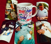 #32-16, NASCAR, INDY,  5 Drivers Signing, Kleenex cup,