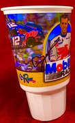 #32-29, NASCAR, Jeremy Mayfield, signing, Run, Mobile 1 Racing, Plastic Cup,