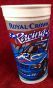 #33-24, NASCAR, Stacy Comptom, Signing, Royal Crown Cola, (RC Cola), NASCAR Truck Racing, Plastic Cup,