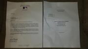 Rob Manfred signed letter