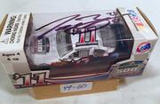 #49-60, NASCAR, Traver Bayne, Signed, Action, 2011, Daytona 500 car box, with, 1/64 scale, die cast,