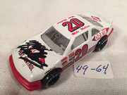 #49-64, NASCAR, Mike Wallace, Signed, Pit Row, #20, ORKIN, 1/64 scale, die cast,