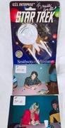 #37-17, Hollywood, Grace Lee Whitney (Yeoman Rand), Bruce Hyde (Lt. Kevin Riley), Signing, 1991, Ertl, Star Trek Smithsonian Museum Shop, Enterprise, Blister Pack,