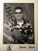 #46D-49, RADIO, Guitar Gavin, DJ, US 99, Signed, Hero Card,