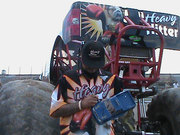 #1C-21, MONSTER TRUCKS, Driver From Heavy Hitter and 17 Monster Truck drivers, Signing, Radio Control, Monster Truck Shell,