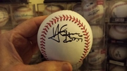 Yan Gomes signed baseball