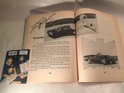 #25-40, Hollywood, George Barris, Signing, Crazy Car Book, 1974, Page 34,