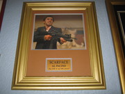 al pacino ''scarface framed autographed''.
