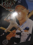 Legends Sports Memorabilia Magazine signed