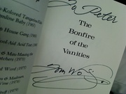 Bonfire of the Vanities - Tom Wolfe - Signed