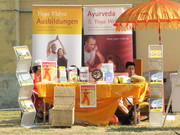 Messestand Yogafestival Berlin