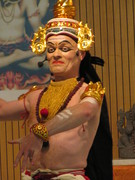 Indisches Thullal- Theater