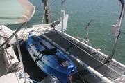 Rear Tramp and Kayaks