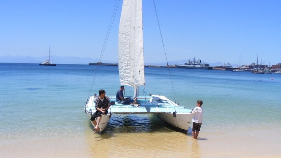 Beached at Simonstown