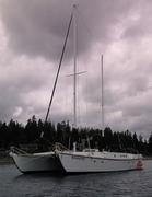 Boondock at Anchor Blakeley Harbor