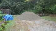 20 tons of gravel for levelling