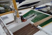 Wingsail schooner forward mast.