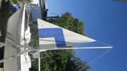 Hinemo - Testing Tuatara's mast