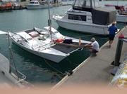 Sorting Dock lines  @ new mooring