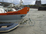 22 y.o. boat 38 y.o. bicycle & 600 y.o. castle on Clare Isl.