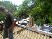 building the main deck