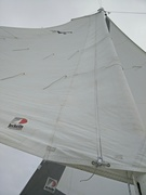 photo mainsail. close to the wind