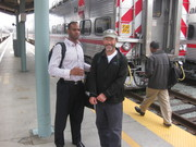 Lamine Ba and Mike Levin head to Google HQ