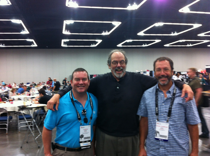 OSCON '12 ::: Ward Cunningham, Clint Collins and Michael Levin