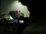stopmotion animation film that uses materials recycling
