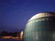 Planetarium Wolfsburg at Winter