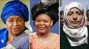 Winners of the Nobel Peace Prize 2011