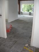 Vloerverwarming ongeïsoleerde betonvloer