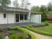 Betonnen terras , terras van beton