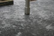 Terras van beton , printbeton