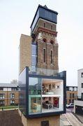 Een bijzonder staaltje herbestemmen... Londense watertoren omgebouwd tot luxe woning.