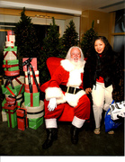 Santa Claus Season's Greetings Best Event from Cadillac at North Bridge Mall by Nordstrom