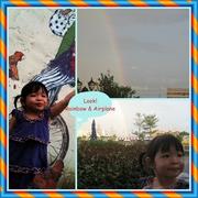 The Airplane through The Rainbow!