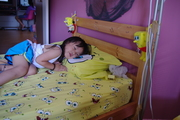 my sister bed
