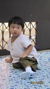 ชุดผ้าไทยของโรงเรียน