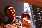 Finna with the Petronas Twin Tower